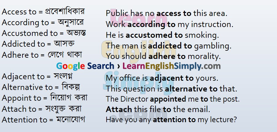 Appropriate Prepositions Part 13