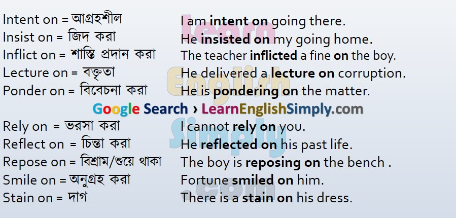 Appropriate Prepositions Part 18