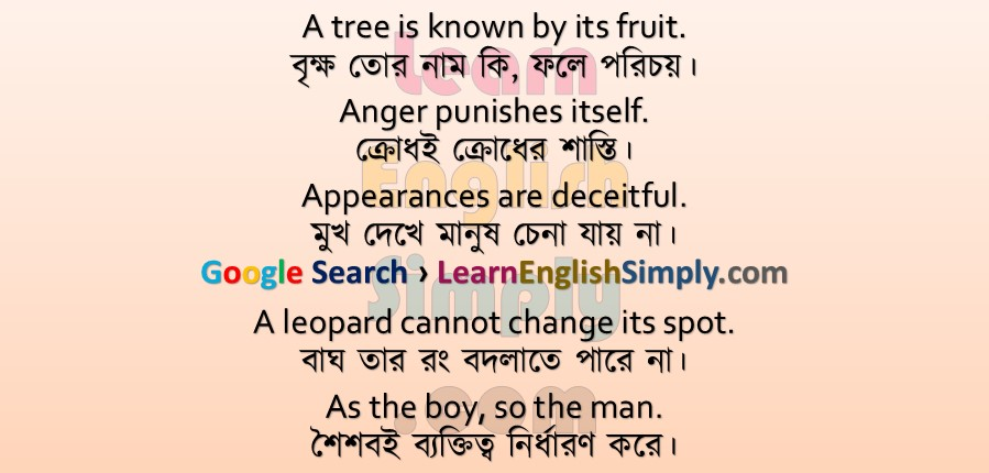 Proverbs Part 02