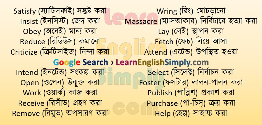 Vocabulary Part 07