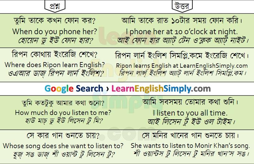 Spoken English Part 26